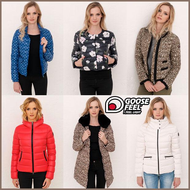 new style 0af8d 1ecee Piumini e giacche Goose Feel