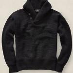 pullover-uomo-ralph-lauren-collo-scialle-cotone-melange