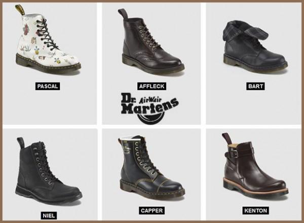lo stile dr martens nei suoi stivali