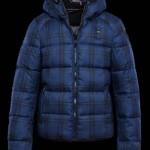 Blauer-uomo-autunno-inverno-2015-16 Piumino Check Print Nylon
