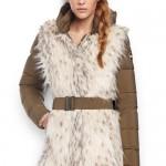 Piumino-donna-con-pelliccia-ecologica