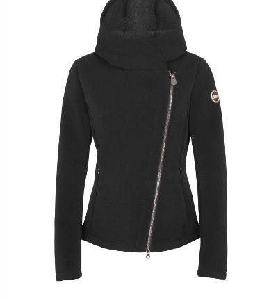 giacca donna in misto lana