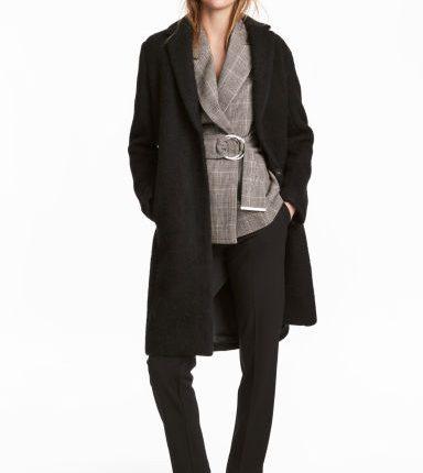 cappotto corto misto lana