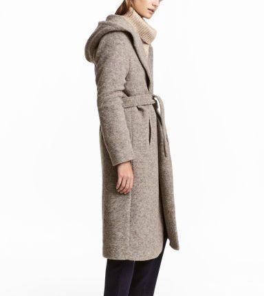 cappotto misto lana