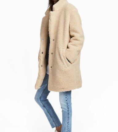 cappotto tipo pelliccia