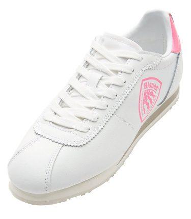 sneaker in pelle stile bowling donna