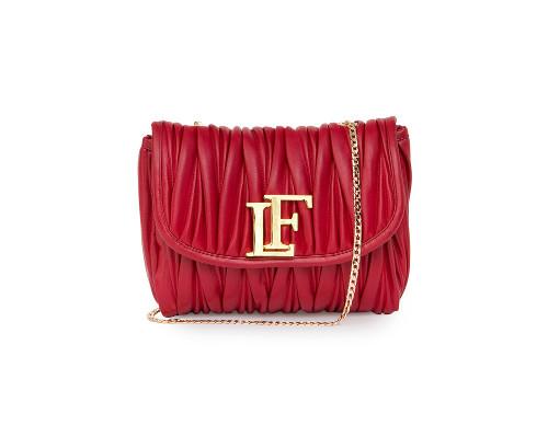 Anastasia plisse rosso
