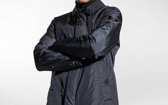 Taffeta trench coat